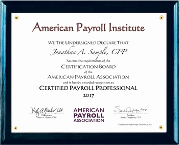 Scribes Inc Complimentary Newly Certified Cpp Fpc Certificate